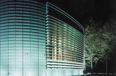 Nordic Embassy. Здание посольства с покрытием TECU Patina