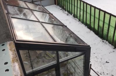 Фасадное остекление, зимний сад