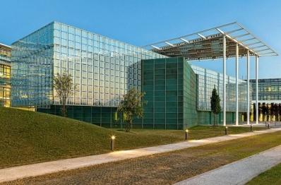 Энергетический парк. Покрытие TECU Patina