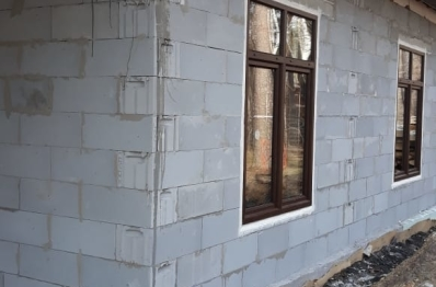 Фасадное остекление из алюминия