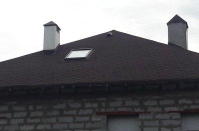 Мансардные окна Velux в частном домe, п.Коптяки